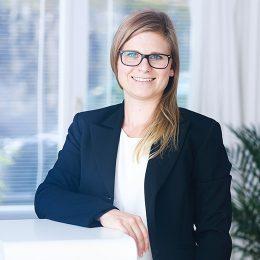 Juristische Mitarbeiterin MLaw Sarah Däpp, Luzern und Hochdorf